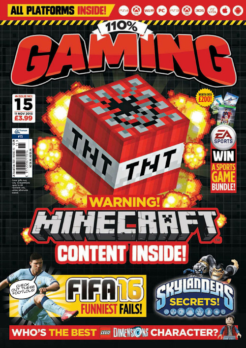 110% Gaming - Issue 15, 2015