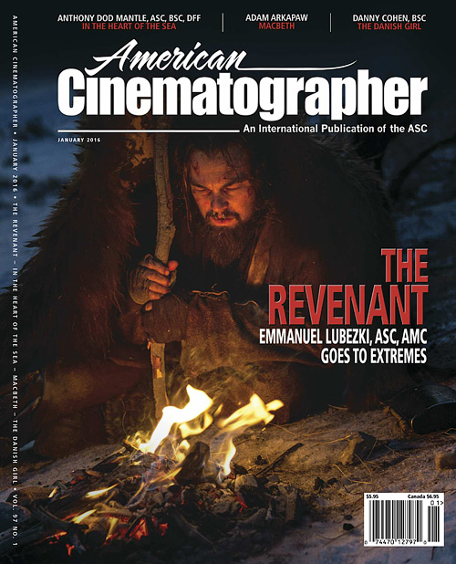 American Cinematographer - January 2016
