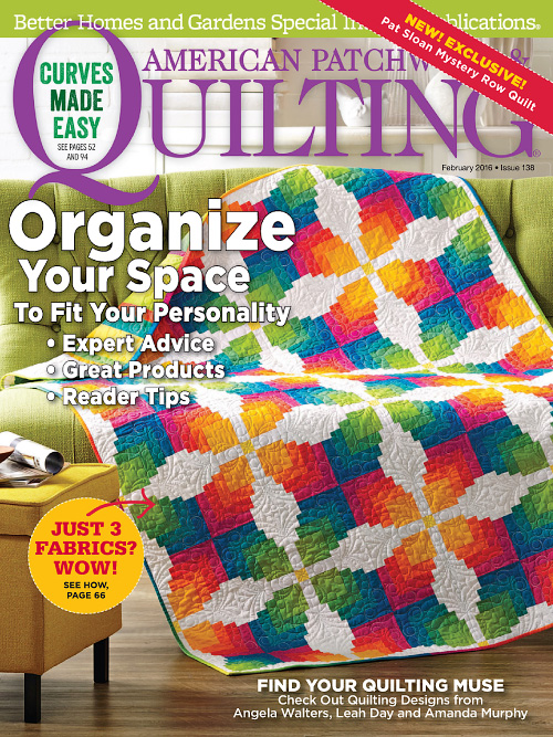 American Patchwork & Quilting - February 2016