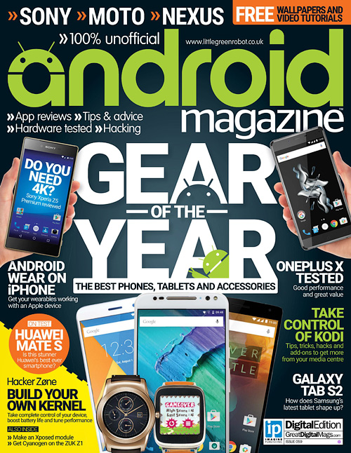 Android Magazine UK - Issue 59, 2016