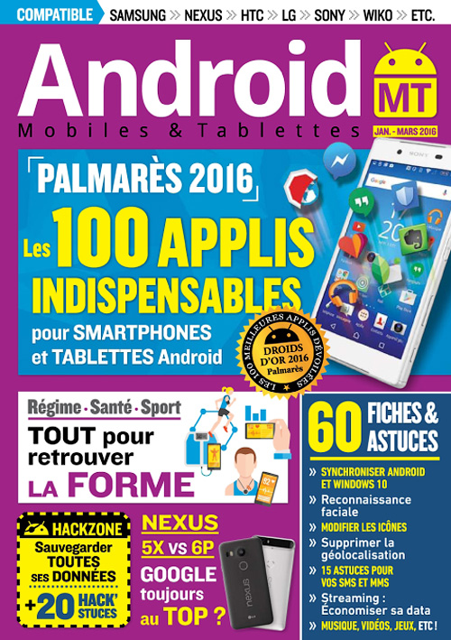 Android Mobiles et Tablettes No.32 - Janvier/Mars 2016