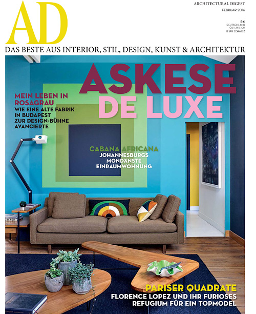 Architectural Digest Germany - Februar 2016