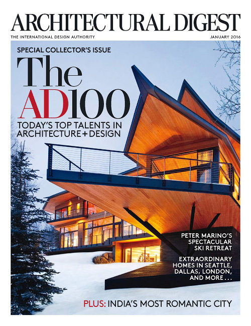 Architectural Digest - January 2016