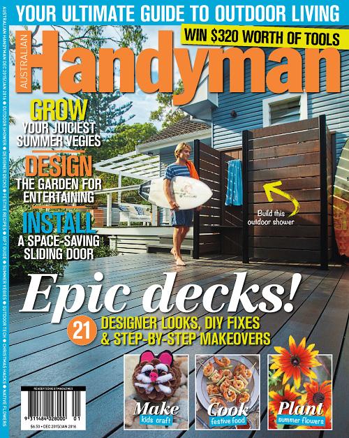 Family handyman december 2015 january 2016 free pdf for The family handyman pdf