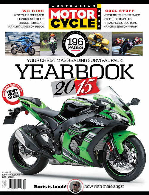 Australian Motorcycle News - 10 December 2015