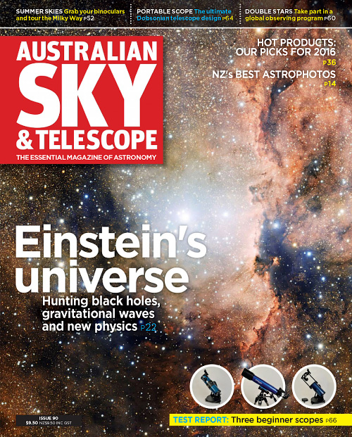 Australian Sky & Telescope - January 2016