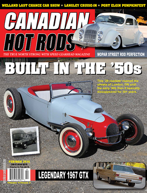Canadian Hot Rods - February/March 2016
