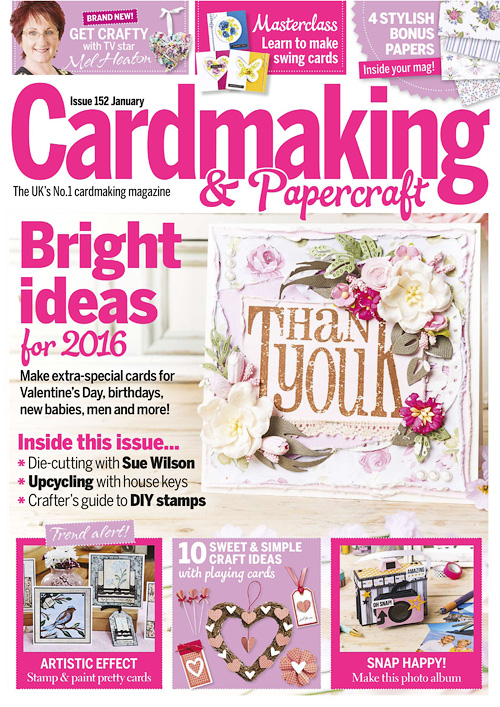 Cardmaking & Papercraft - January 2016