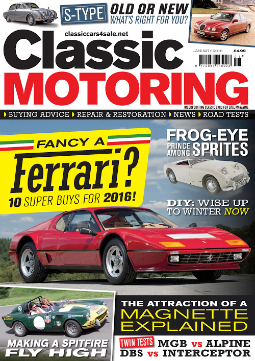 Classic Motoring - January 2016