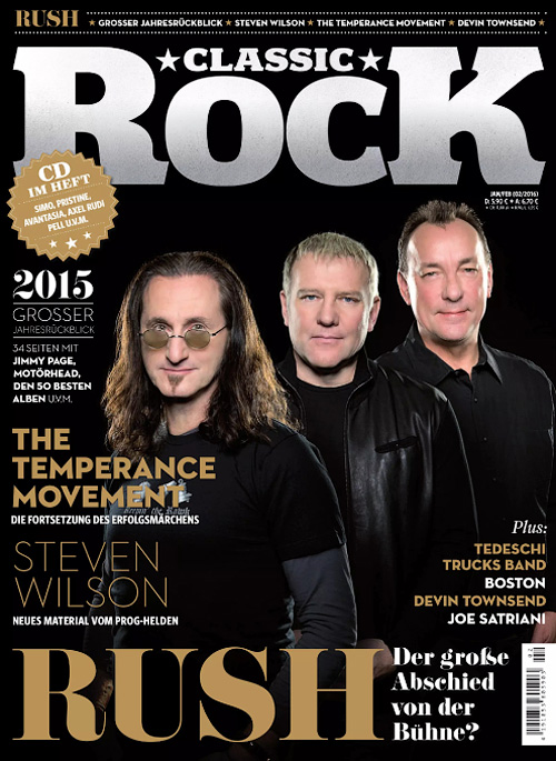 Classic Rock Germany - Januar/Februar 2016