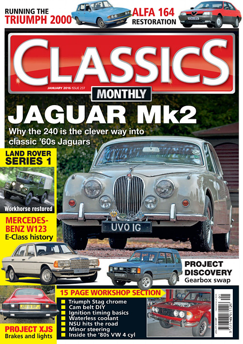 Classics Monthly - January 2016