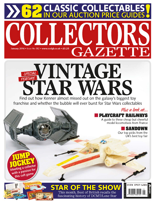 Collectors Gazette - January 2016