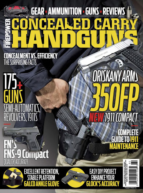 Conceal & Carry Handguns - Winter/Spring 2016