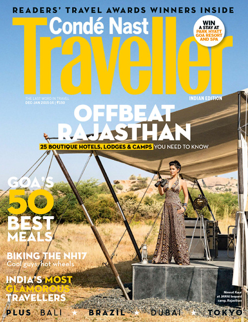 Conde Nast Traveller India - December 2015/January 2016