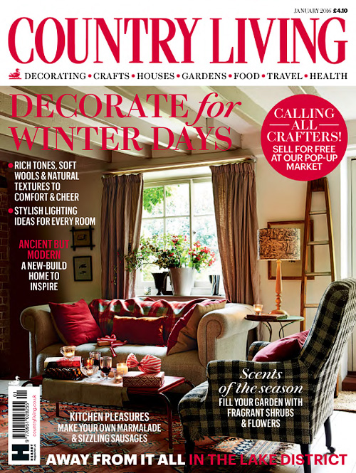 Country Living UK - January 2016