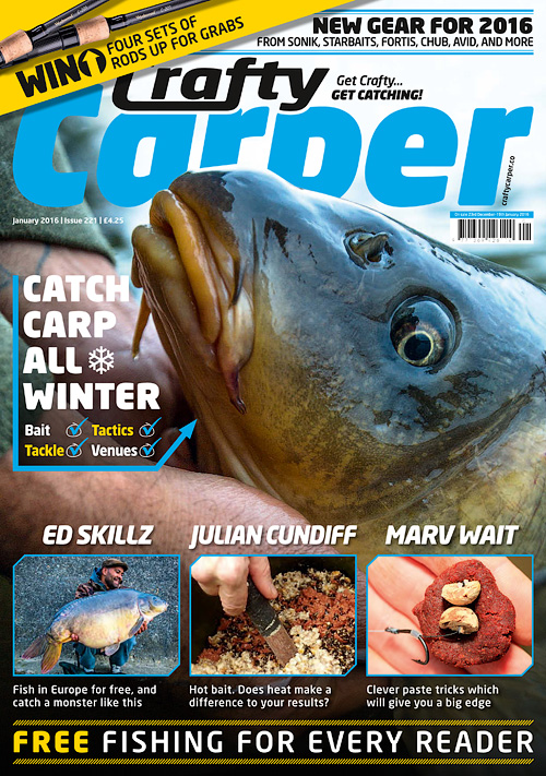 Crafty Carper - January 2016