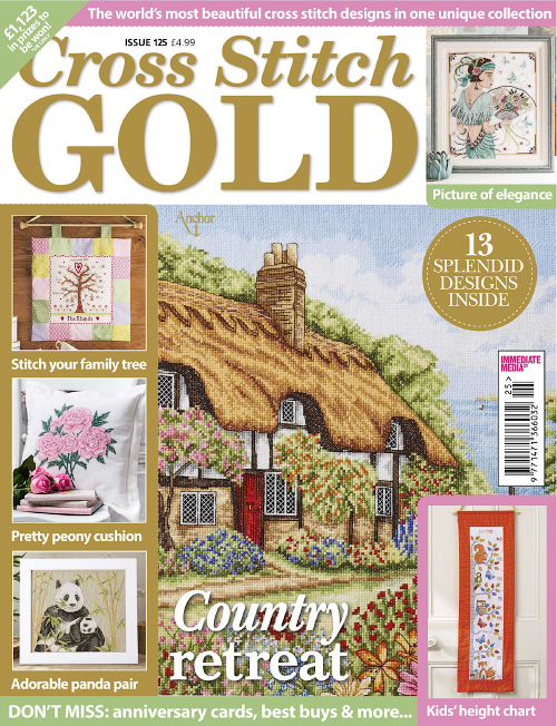 Cross Stitch Gold - Issue 125, 2016
