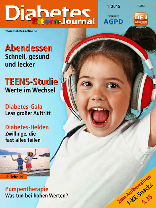 Diabetes Eltern Journal - Nr.4, 2015