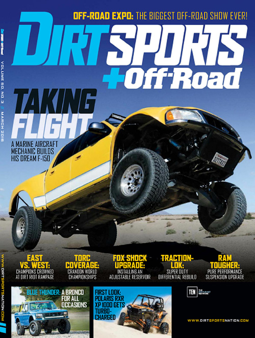 Dirt Sports + Off-Road - March 2016