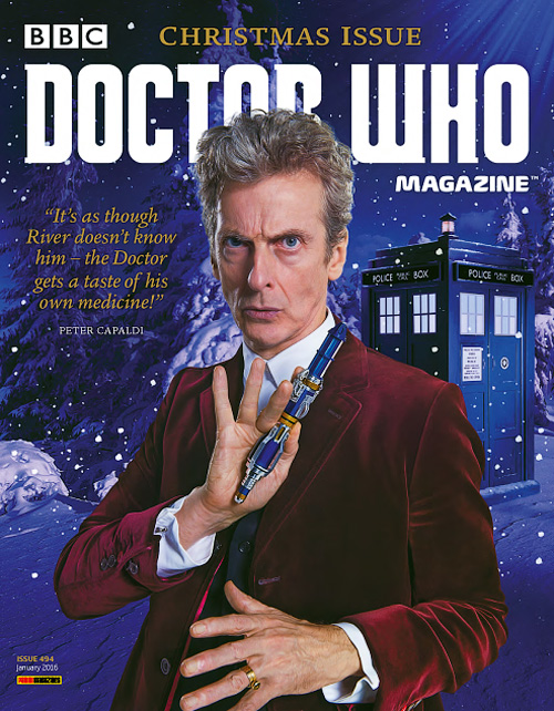 Doctor Who Magazine - January 2016