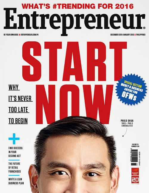 Entrepreneur Philippines - December 2015/January 2016