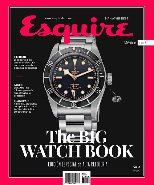 Esquire Mexico: The Big Watch Book 2, 2015