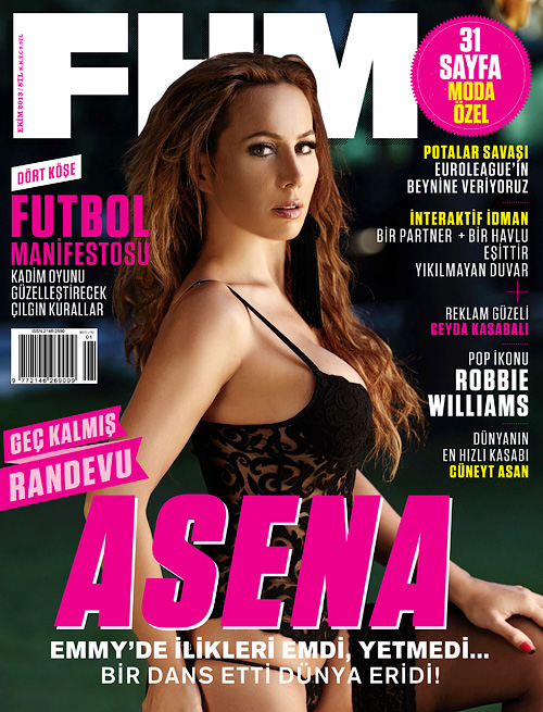FHM Turkiye - October 2013