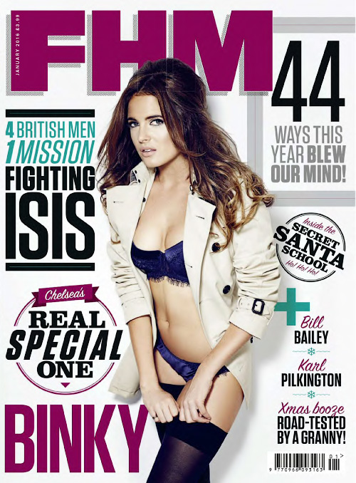 FHM UK - January 2016
