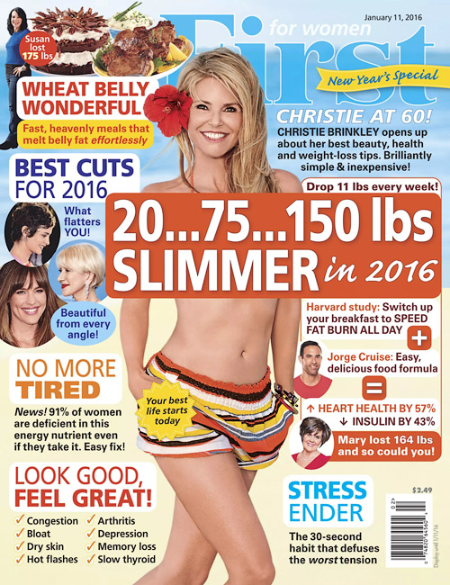 First for Women - 11 January 2016