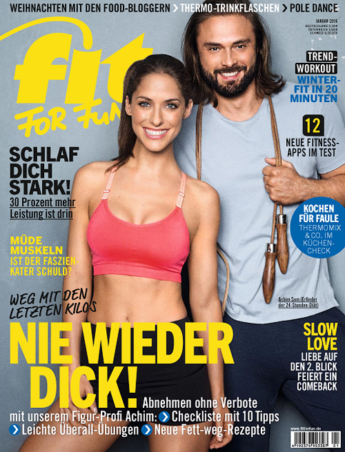 Fit For Fun - Januar 2016