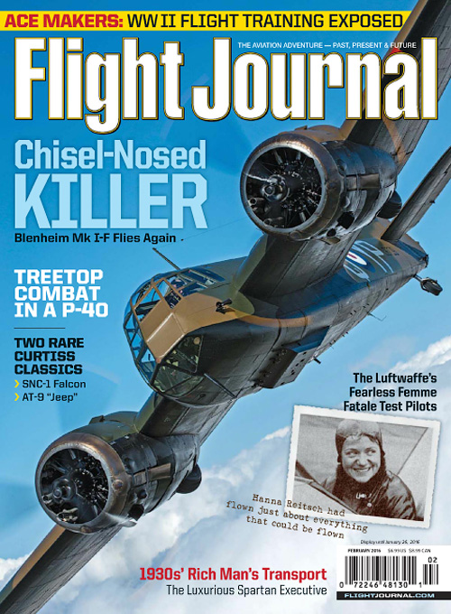 Flight Journal - February 2016