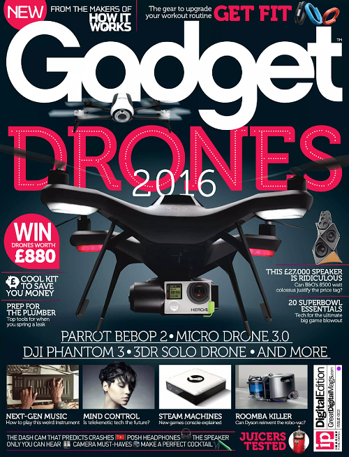 Gadget UK - Issue 3, 2016