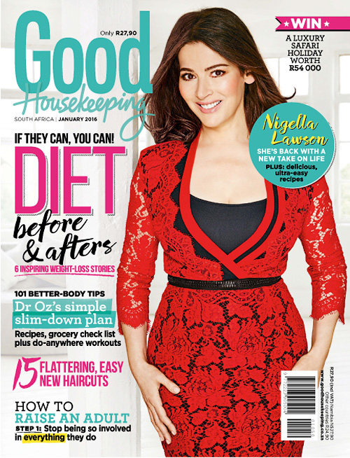 Good Housekeeping South Africa - January 2016
