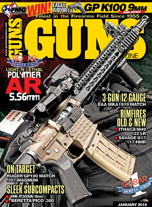 guns magazine january 2016