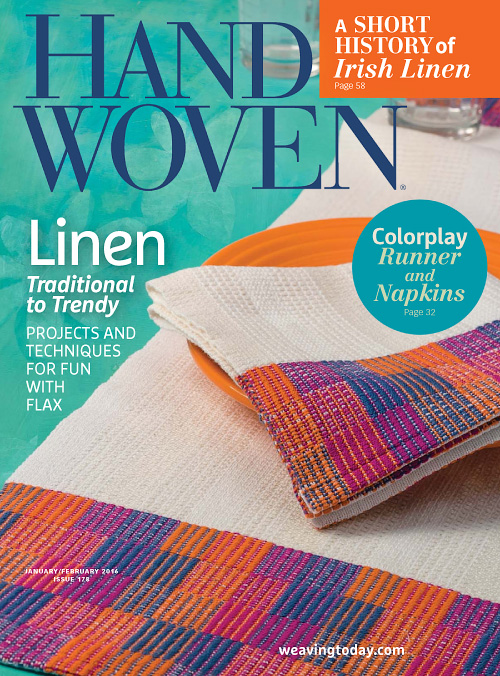 Handwoven - January/February 2016