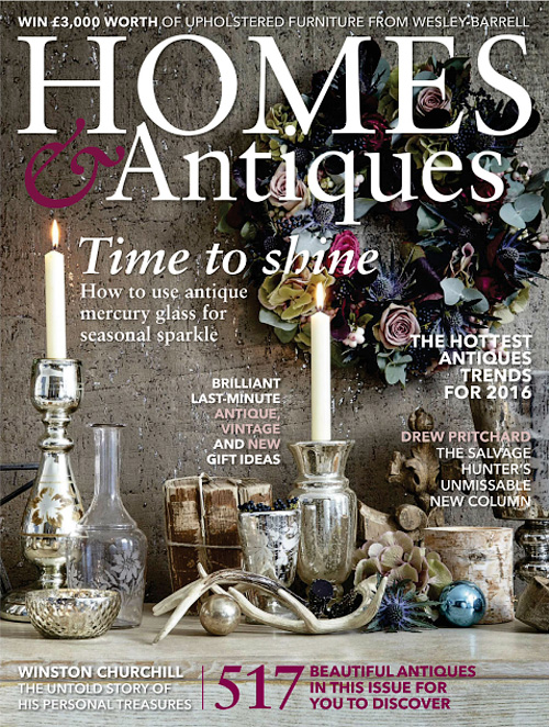 Homes & Antiques - January 2016