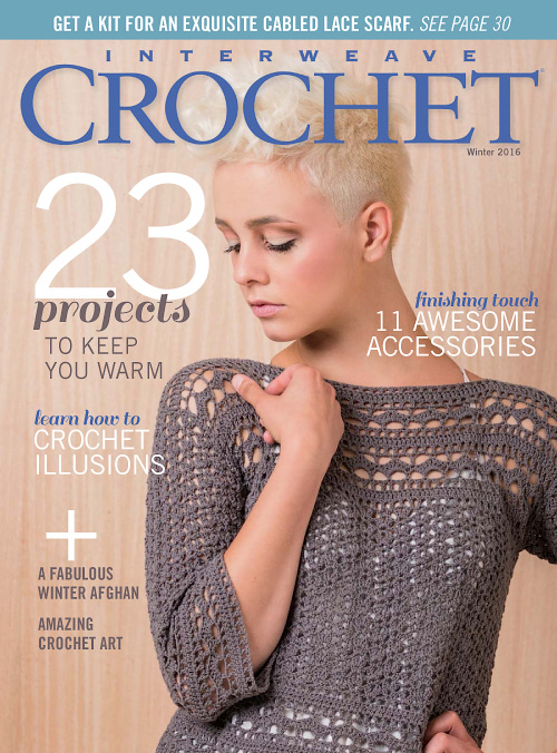 Interweave Crochet - Winter 2016