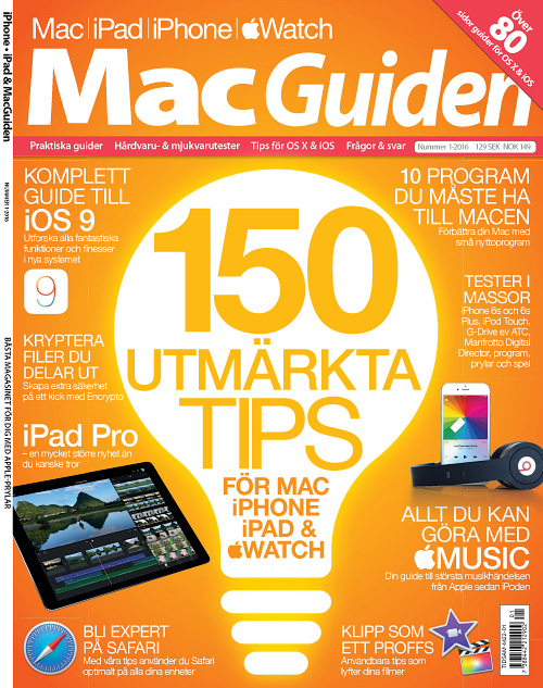 iPhone, iPad & Mac Guiden - Nr.1, 2016
