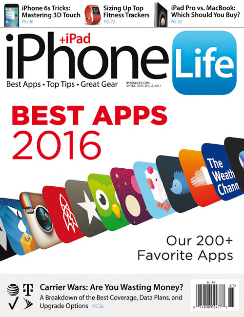 iPhone Life - Spring 2016