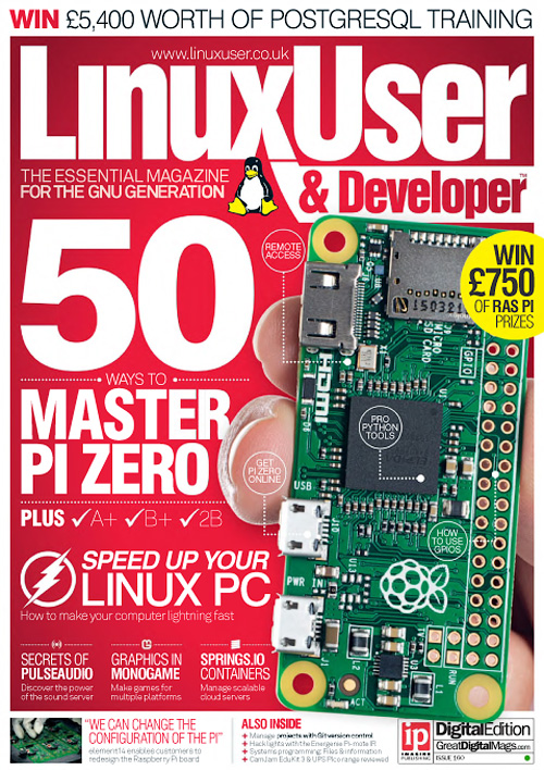 Linux User & Developer - Issue 160, 2015