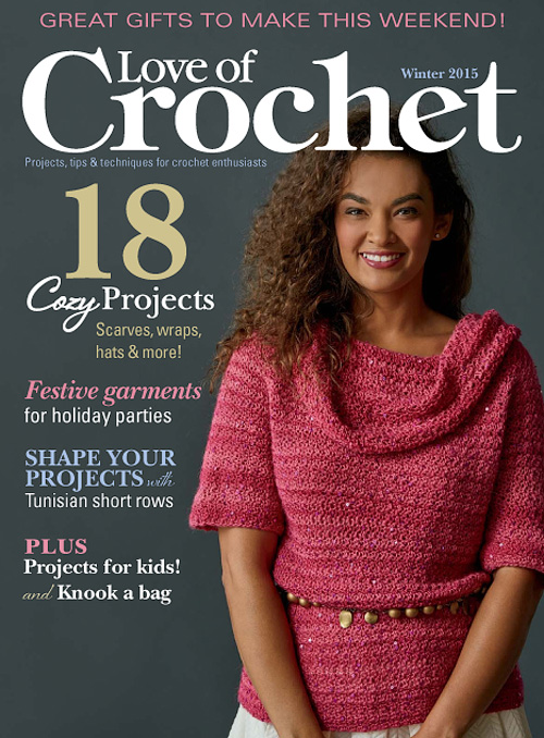 Love of Crochet - Winter 2015