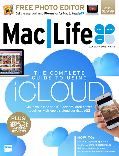 Mac Life USA - January 2016