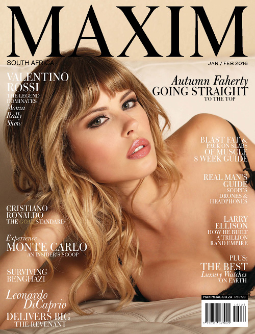 Maxim South Africa - January/February 2016