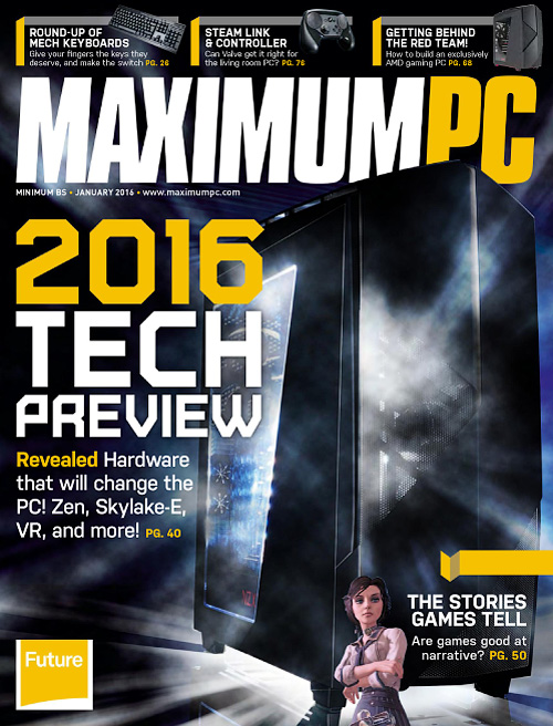 Maximum PC - January 2016