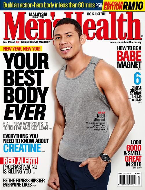 Men's Health Malaysia - January 2016