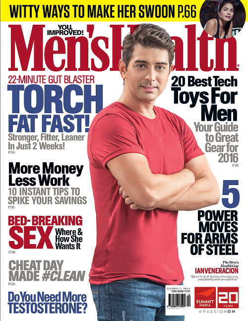 Men's Health Philippines - December 2015/January 2016