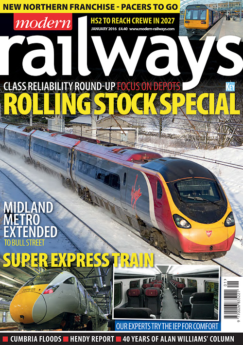 Modern Railways - January 2016