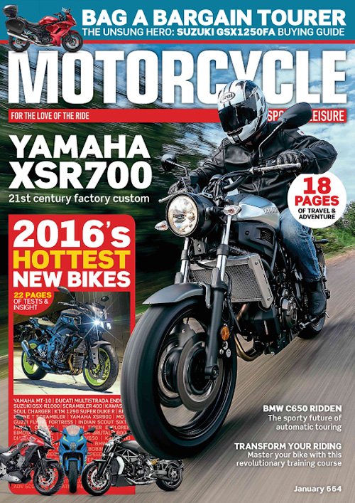 Motorcycle Sport & Leisure - January 2016