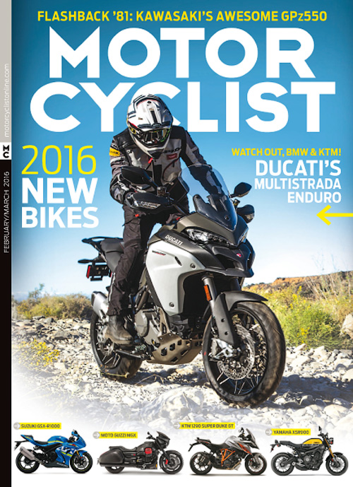 Motorcyclist - February/March 2016