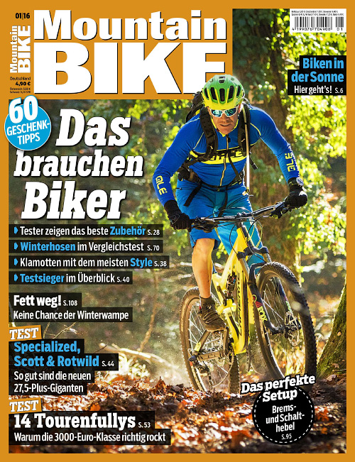 Mountain Bike - Nr.1, 2016